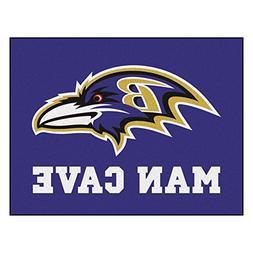 FANMATS 14268 NFL Baltimore Ravens Nylon Universal Man Cave