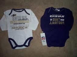 Baltimore Ravens nfl INFANT BABY NEWBORN Jersey Shirt 0-3M
