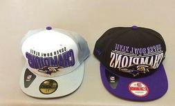 2 New Era Baltimore Ravens Superbowl Champs Hat Hats Caps 7