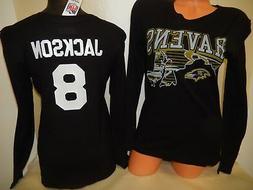 9601 WOMENS NFL Apparel Baltimore Ravens LAMAR JACKSON Long