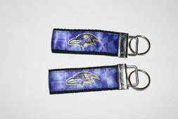 A LOT OF  NFL BALTIMORE RAVENS USN NAVY KEY CHAINS NFL RAVEN