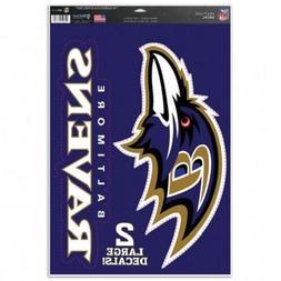 "Baltimore Ravens 11"" x 17"" Multi Use Decals - Auto, Walls, W"