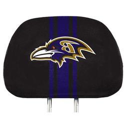 Baltimore Ravens 2-Pack Color Print Auto Car Truck Headrest