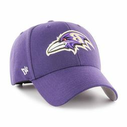 Baltimore Ravens NFL Adult Audible '47 MVP Adjustable Cap Ha