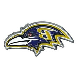 Baltimore Ravens Color Auto Emblem - Die Cut