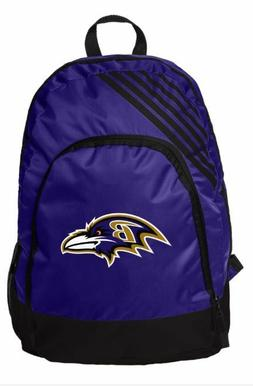 Baltimore Ravens BackPack Back Pack Book Sports Gym School B