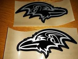 Baltimore Ravens Black ice Football Helmet Decals Full Size