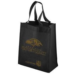Baltimore Ravens Black Reusable Tote Bag