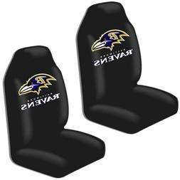 BALTIMORE RAVENS CAR/TRUCK UNIVERSAL BUCKET SEAT COVERS NFL