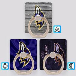 Baltimore Ravens Cell Phone Holder Ring Stand Mount Accessor