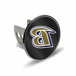 RICO BALTIMORE RAVENS CHROME TRAILER HITCH COVER WITH LASER