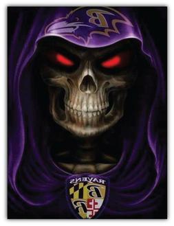 Baltimore Ravens Evil NFL Car Bumper Sticker Decal- 3'' or 5