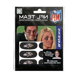 Baltimore Ravens Eye Black Strips 6 High Quality Vinyl NFL F