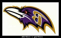 BALTIMORE RAVENS FOOTBALL NFL TEAM LOGO DESIGN DECAL STICKER