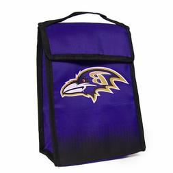 Baltimore Ravens Gradient Velcro Lunch Bag