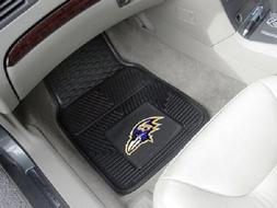 Baltimore Ravens Heavy Duty Vinyl Car Floor Mats New - In st