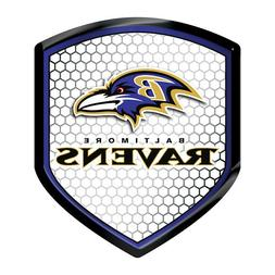 Baltimore Ravens High Intensity Sheild Reflector Emblem Deca