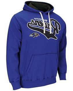 Baltimore Ravens Hoodie Men's NFL Wild Card Pullover Fleece