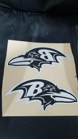 Baltimore Ravens  metallic silver and black full size footba