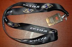 Baltimore Ravens Lanyard Keychain Ticket Holder Badge Holder