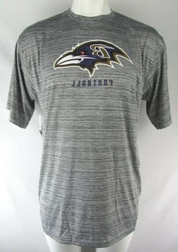 Baltimore Ravens Men's Gray Team Apparel Big & Tall 100% Pol
