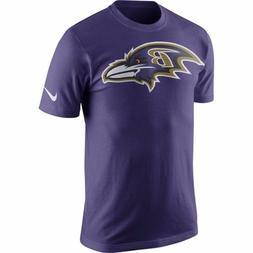 Baltimore Ravens Nike Men's Purple Logo T-Shirt, 2XL & 3XL