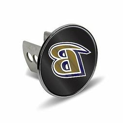 "Baltimore Ravens Metal 2"" Trailer Hitch Cover Laser Cut Acry"