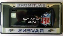 Baltimore Ravens Metal License Plate Frame Licensed By Rico