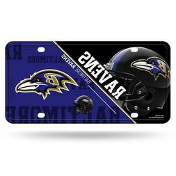 Baltimore Ravens Metal License Plate  NFL Tag Auto Truck Car