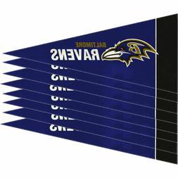 Baltimore Ravens 8 Piece Mini Pennant Set