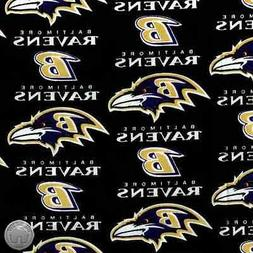 Baltimore Ravens NFL 100% Cotton Fabric 6041 D