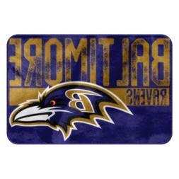 "Baltimore Ravens NFL 20"" x 30"" Worn Out Printed Foam Mat Bat"