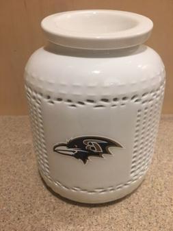 Baltimore Ravens NFL Aroma Night Light & Wax Burner w/Porcel
