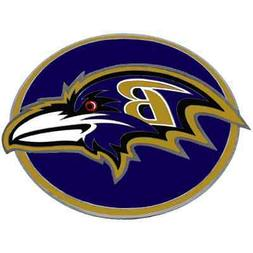 BALTIMORE RAVENS NFL Class III Pewter Trailer Hitch Cover