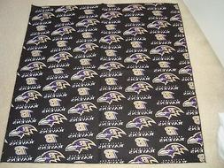 Baltimore Ravens NFL Football Fabric Bandana Pet Dog or YOU!