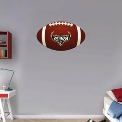 Baltimore Ravens NFL Logo Ball Art Wall Decor Sticker  - 12'