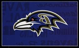 Baltimore Ravens NFL 20x30 Standard Pillowcase Sham Set of 2