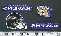 Baltimore Ravens NFL Team Fabric Iron On Applique Patch NO S