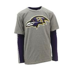 Baltimore Ravens Official NFL Apparel Kids Youth Size 2 Shir