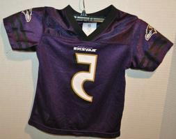 Baltimore Ravens Official NFL Youth Boys Size Joe Flacco Jer