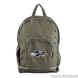 Baltimore Ravens Olive Old School Backpack