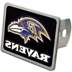 Baltimore Ravens Rectangle Logo Trailer Hitch Cover ~ New