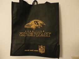 Baltimore Ravens Reusable Cloth Fabric Shopping Bag Tote new