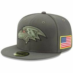 New Era Baltimore Ravens Salute To Service 59Fifty Hat/Cap E