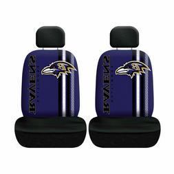 Baltimore Ravens Set of 2 Rally Print Seat Covers