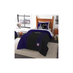 NFL Baltimore Ravens Soft and Cozy Bedding Comforter Set