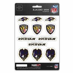 Baltimore Ravens Stickers Die Cut Mini Decals 12-Pack Sticke
