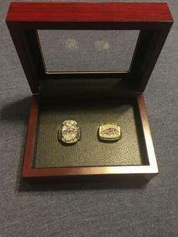 Baltimore Ravens Super Bowl 2 Rings 2000/2012 Replica Rings