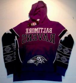 Baltimore Ravens Sweater Hoodie NFL Kids Youth Medium M 10/1