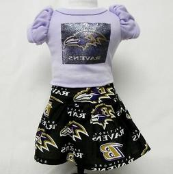 Baltimore Ravens Theme Outfit For 18 Inch Doll
